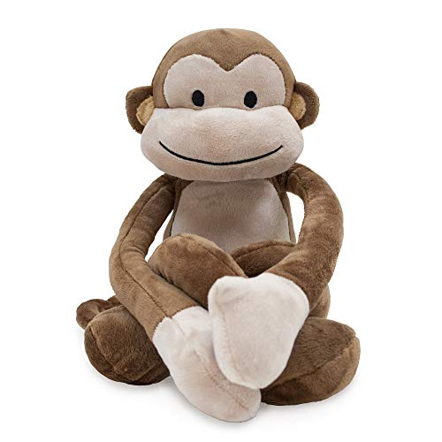Lambs & Ivy Papagayo Plush Brown Monkey Stuffed Animal - Monkey Stuffed Toy