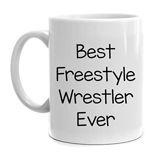 Eddany Best Freestyle Wrestler ever Mug 11 ounces