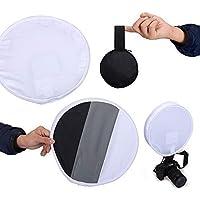 WINOTAR 30cm Round Flash Diffuser Softbox...