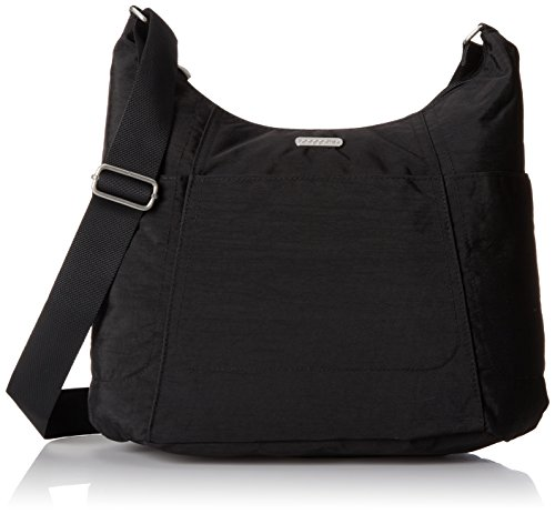 Baggallini Hobo Travel Tote, Black, One Size