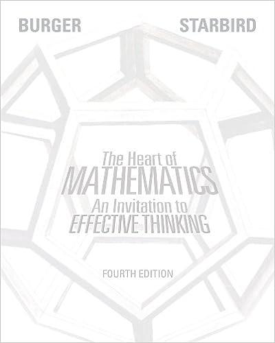 heart of mathematics 4th edition answers