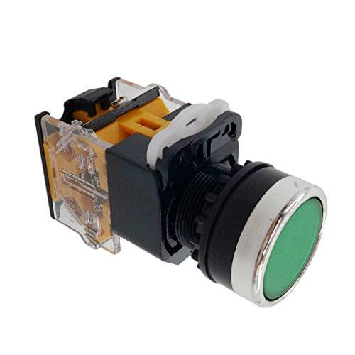 Homyl マーキングマシン、電磁スターター、コンタクター、リレー、およびリモートコントロール用のその他の電気回路などの産業機械用の22mmモーメンタリープッシュボタン