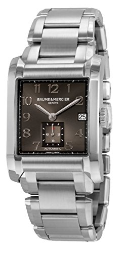 Baume & Mercier Men's BMMOA10048 Hampton Analog Display Swiss Automatic Silver Watch