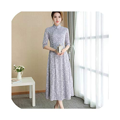 Chinese Dress Cheongsam Qipao Orienal Dress China Traditional Chinese Clothing for Women,2,XXL