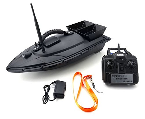Flytec 2011-5 Electric Fishing Bait RC Boat 500M Remote Fish Finder 5.4km/h Double Motor