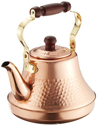 Copper Classic Kettle - Pure copper Classy Kettle 2.5L TY-8325 2725ao by Takegoshi industry