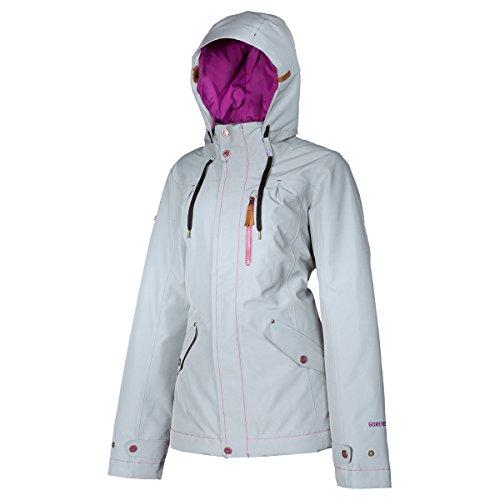 Klim Aria Women's Snowmobile Jacket - Large / Gray
