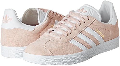 Gazelle Mixte Pink Basses Baskets Metallic vapour white Rose gold 0 Adidas Adulte wTHxH4