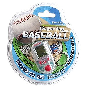 Excalibur K315-CS-CC Finger Fun Baseball Keychain Game