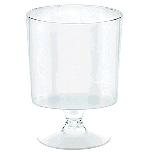 Mini CLEAR Plastic Footed Bowls -