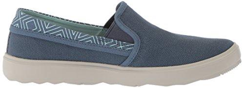 Merrell Womens Autour Ville Ville Moc Toile Sneaker Bering Mer