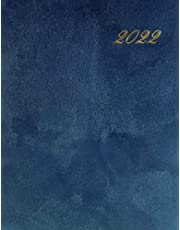 """2022 Daily Planner: 8.5"""" x 11"""" Large 2022 Daily Planner, One Page per Day 