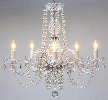 Empress Crystal (tm) Chandelier Lighting by Gallery - I want this chandelier hanging over my diningroom table | christmastablescapedecor.com