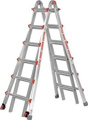 Poco gigante escalera # 10126lgwd modelo 26 tipo 1 A nominal de 136 kg con plataforma de trabajo libre: Amazon.es: Bricolaje y herramientas