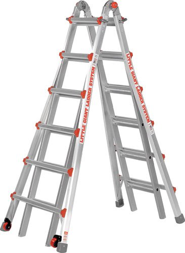 Little Giant Ladder #10126LGWD Model 26 Type 1A 300lb Rated with Free Work Platform