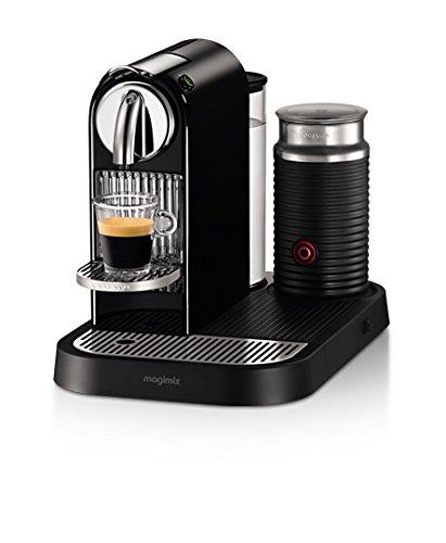 Nespresso Citiz & Milk D121 Independiente Manual Máquina de café en cápsulas 1L 1tazas Negro -