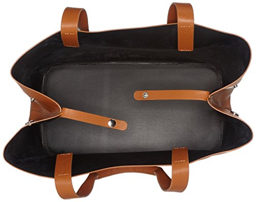 Shopper Cognac Pieces épaule portés Sacs Pcillu Marron 5xwWFTq8p