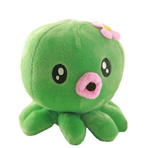 "hqclothingbox 7"" Cute Claw Fish Octopus Baby Plush Toys Stuffed Doll Baby Girls Birthday Gift"