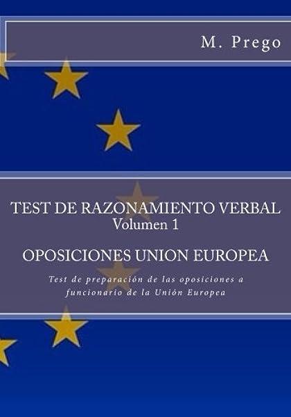TEST DE RAZONAMIENTO VERBAL Volumen 1 ...
