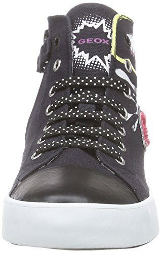 Geox Jr Ciak Girl A - Zapatillas altas Niñas Varios Colores - Mehrfarbig (BLACKC9999)