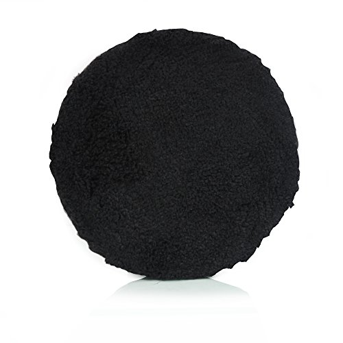 Chemical Guys BUFX_303_5 5 Inches Black Microfiber Polishing Pad