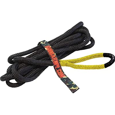 "Bubba Rope 176650YWG 1/2"" x 20' Lil' Bubba Breaking Strength Rope with Standard Yellow Eye - 7450 lbs. Capacity: Automotive"