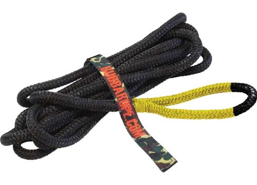 Bubba Rope 176650YWG 1/2' x 20' Lil' Bubba Breaking Strength Rope with Standard Yellow Eye - 7450 lbs. Capacity