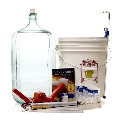 Home Brew Ohio Complete Beer Equipment Kit (K6) with 6 gal Glass Carboy by Monster Brew Home Brewing Supplies