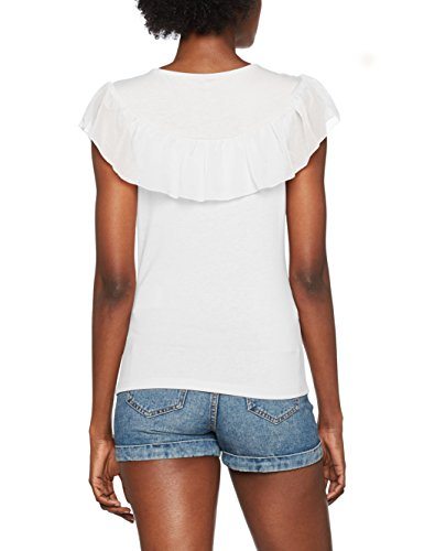 Only Onltascha S/L Top Jrs, Camiseta para Mujer Blanco (Cloud Dancer Cloud Dancer)