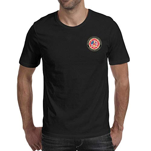 DXQIANG Palm Beach County Fire Rescue Design Mens Novelty T Shirts 100% Cotton Tee Tops
