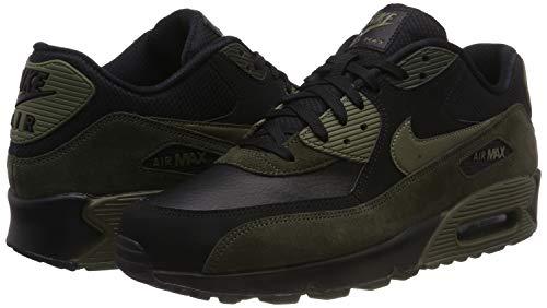 En Max noir Baskets Moyen Sequoia Cuir 014 Olive Air Noir Basses 90 Hommes Nike twfqCAaq