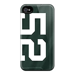 Iphone 4/4s Case Cover Skin : Premium High Quality Green Bay Packers Case
