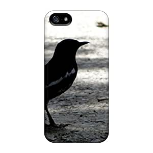 Sanp On Case Cover Protector For Iphone 5/5s (dancing Bird)