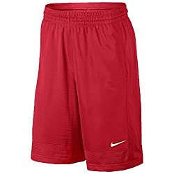 Nike Men's Fastbreak Basketball Shorts 849522-687 Team Red (Large)