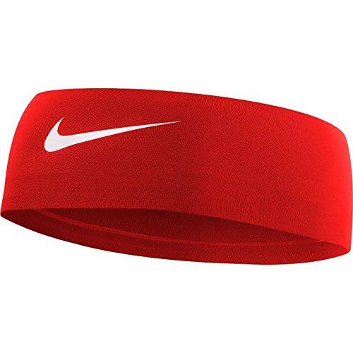 NIKE Women's Fury Headband 2.0, Red by Nike (Image #1)