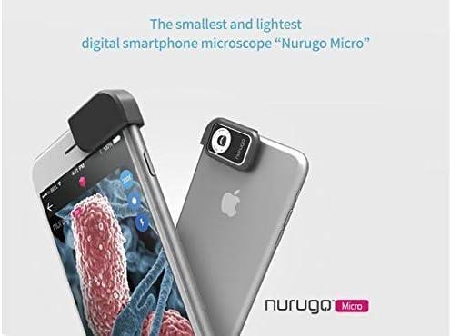 nurugo Micro 400 x microscopio Smartphone incluye soportes para ...
