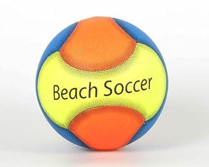 B/PVC BALON FUTBOL PLAYA MAX. 0.2-0.3 BAR: Amazon.es: Juguetes y ...