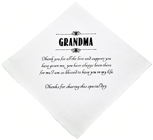 Wishprom Grandma Hankie Wedding Party Gift