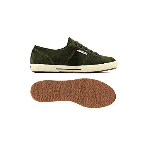 Military unisex Sneaker Sueu 2950 Green adulto Superga waSqvxT