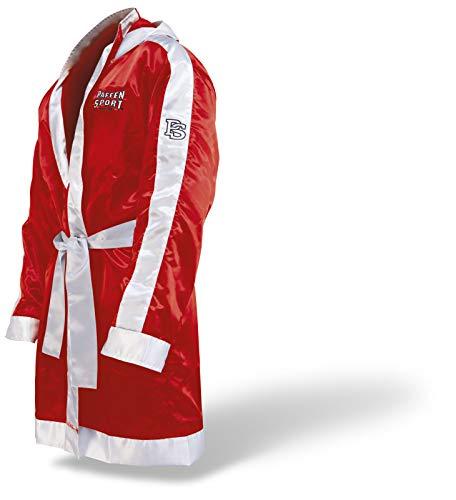 Paffen Sport Peignoir de boxe avec capuche rouge/blanc