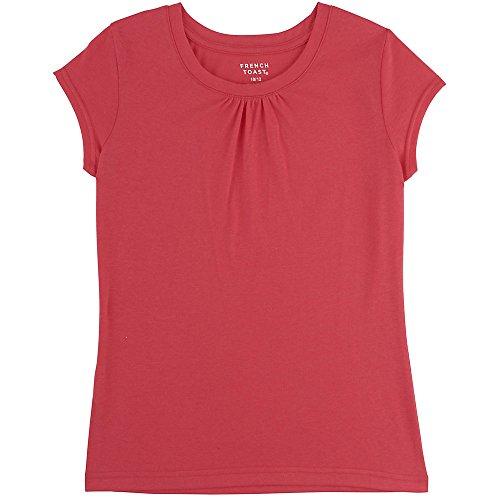 French Toast Girls Short Sleeve Crew Neck T-Shirt