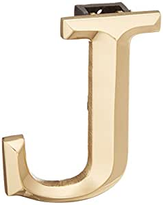 Monogram Letter J Door Knocker Brass Amazon Com