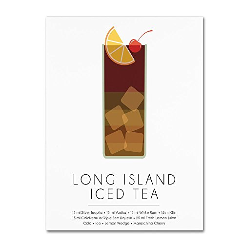 Long Island Iced Tea by Studio Grafiikka, 18x24-Inch Canvas Wall Art