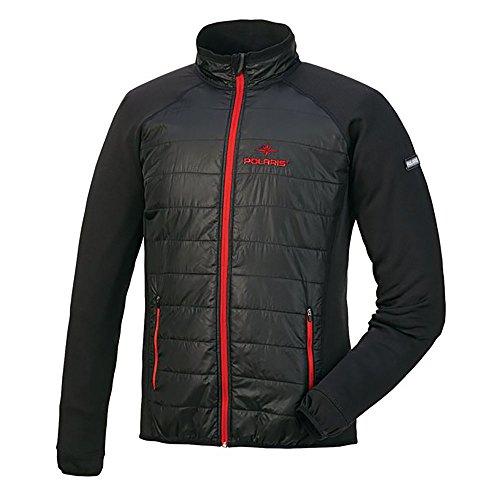 Polaris Men's Black Vertical Climb Performance Shell Jacket