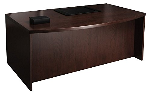 Set of 1, Bow Front Desk (66