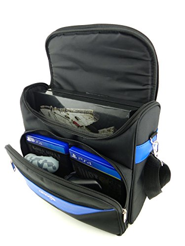 Amazon.com: Playstation 4 Carrying Case Bag, Amagle PS4 Travel Bag ...