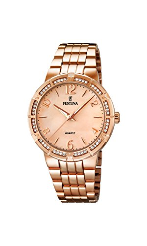 Festina Classic Ladies F16705/2 Wristwatch for women With crystals