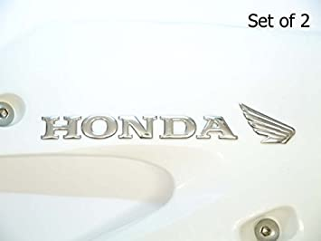 uauto custom made Insignia Moto Tanque de Gasolina, 2 Piezas, Cromado: Amazon.es: Coche y moto
