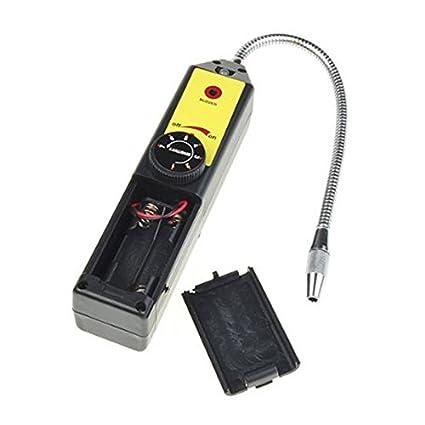 Detector de fugas – TOOGOO (R) halógena freón Detector de fugas de refrigerante a
