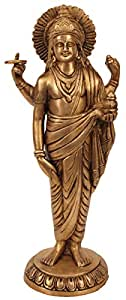 Shalinindia Señor hindú Dhanvantari Avatar de Vishnu